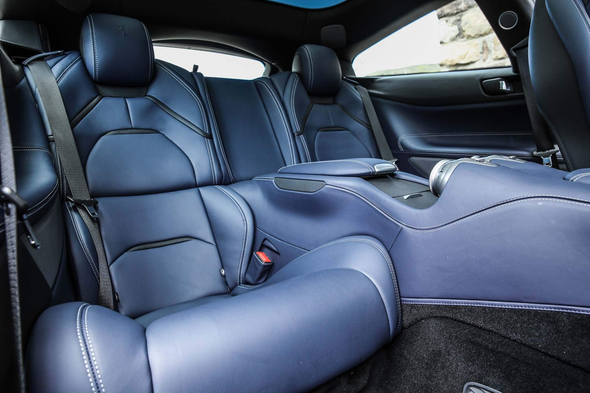 2017 ferrari gtc4lusso rear interior seats. Black Bedroom Furniture Sets. Home Design Ideas