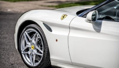 Ferrari California T, 3/4 front view