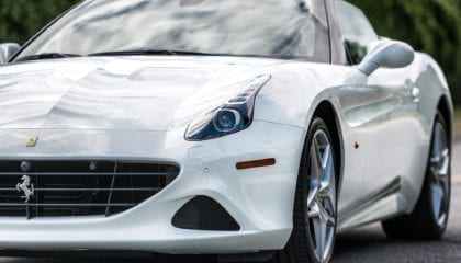 Ferrari California T, front detail