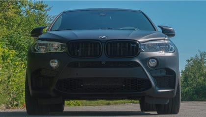 BMW X6 M, front view